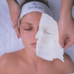 Active vitamin facial including mini peel